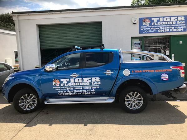 Tiger Flooring Truck